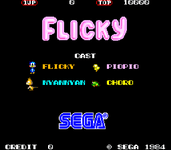 Video Game: Flicky