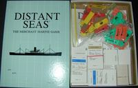 Board Game: Distant Seas: The Merchant Marine Game