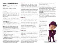 RPG Item: Pan's Passionate Play