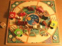 Board Game: Bauer schnell! Es wird schon hell