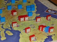 Close-up of a game session at Spelgroep Phoenix.