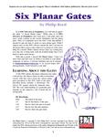 RPG Item: Six Planar Gates
