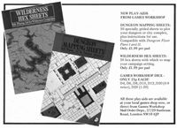 RPG Item: Dungeon Mapping Sheets