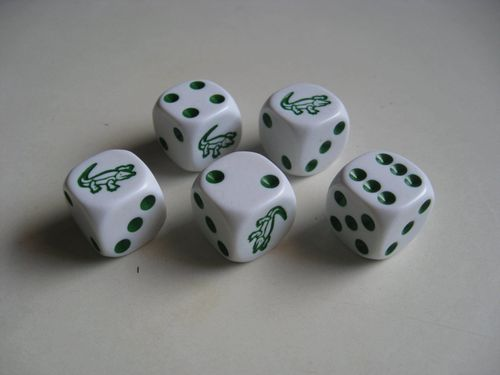 Board Game: Alligator Dice Game
