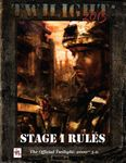 RPG Item: Twilight: 2013 Stage I Rules