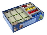 Board Game Accessory: Carcassonne: Folded Space Insert