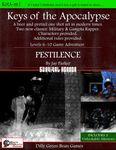 RPG Item: Keys of the Apocalypse 1: Pestilence