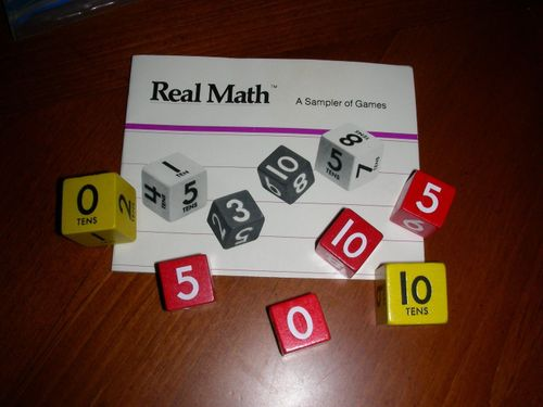 Board Game: Real Math: A Sampler of Games