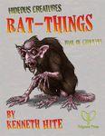 RPG Item: Ken Writes About Stuff 2-10: Hideous Creatures: Rat-Things