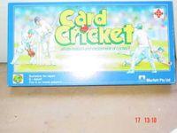 Board Game: Card Cricket