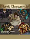 RPG Item: Devin Token Pack 130: Heroic Characters 26