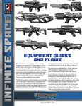 RPG Item: Infinite Space: Equipment Quirks and Flaws