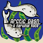 Board Game: Arctic Dash: A Narwhal Race