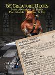 RPG Item: 5e Creature Decks: More Aberrations & Fiends (Plus Celestials, Elementals, & Fey)