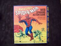 Board Game: Amazing Spider-Man Web Spinning Action Game