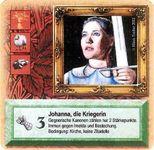 Board Game: Die Siedler von Catan: Das Kartenspiel – Sonderkarte 2002 – Johanna, die Kriegerin