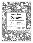 RPG Item: How to Host a Dungeon