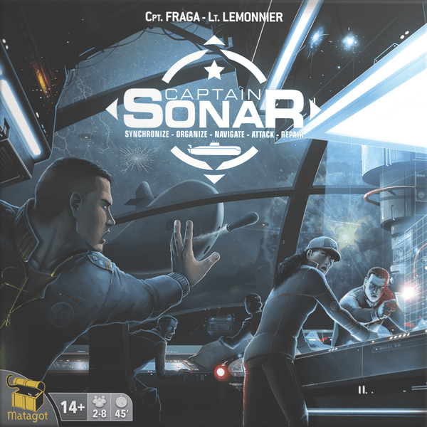 Captain Sonar, Matagot, 2016 — front cover (image provided by the distributor)