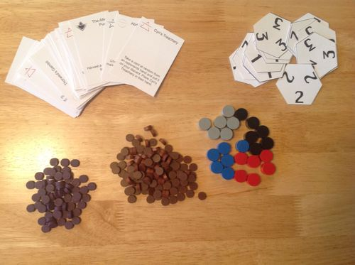 Board Game: The Rise and Fall of Galactic Empires