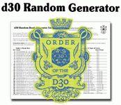 Series: d30 Random Generators