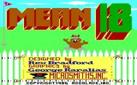 Video Game: Mean 18