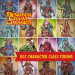 RPG Item: DCC Character Class Tokens