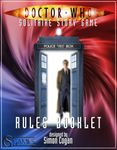 Board Game: Doctor Who: Solitaire Story Game