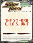 RPG Item: The XM-550 C.H.A.S. Unit