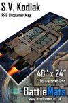 RPG Item: S.V. Kodiak RPG Encounter Map