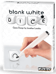 Board Game: Blank White Dice