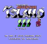 Video Game: Adventure Island 3