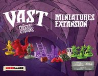 Board Game Accessory: Vast: The Crystal Caverns – Miniatures Expansion