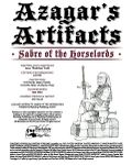 RPG Item: Azagar's Artifacts: Sabre of the Horselords