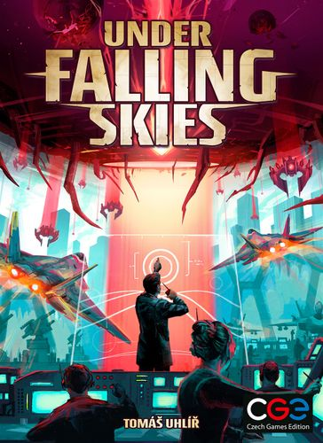Under Falling Skies cover. Illustrated by Kwanchai Moriya.