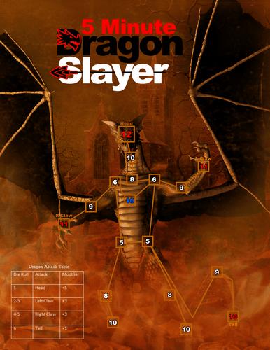 Board Game: 5-Minute Dragon Slayer