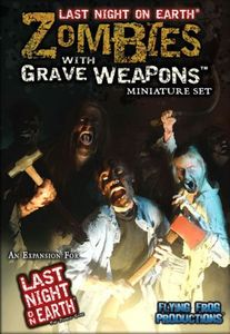 Last Night on Earth: Zombies with Grave Weapons Miniature Set Cover Artwork