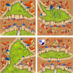 Board Game: Divided Cities (fan expansion for Carcassonne)