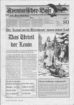 Issue: Aventurischer Bote (Issue 80 - Sep/Oct 1999)