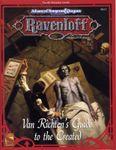 RPG Item: RR8: Van Richten's Guide to the Created