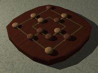 Board Game: Six Men's Morris