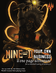RPG Item: Mine-d Your Own Business (5E)