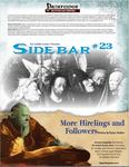 RPG Item: Sidebar #23: More Hirelings and Followers