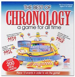 The Best of Chronology boardgame