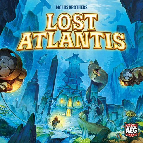 Board Game: Lost Atlantis