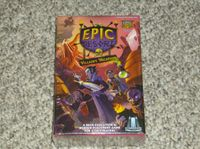 Board Game: Epic Resort: Villain's Vacation with Upgrade Kit