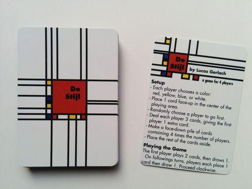 Board Game: De Stijl