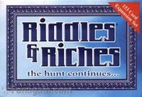 Board Game: Riddles & Riches: Expansion Set 1 Silver Edition