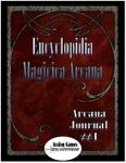 Issue: Arcana Journal (Issue 1 - Jan 2010)