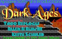 Video Game: Dark Ages (1991)