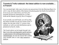 RPG: Tunnels & Trolls 8th (French) edition